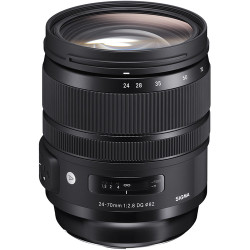 Sigma 24-70mm f/2.8 DG OS HSM Art Lens for Nikon F (PRE-ORDER)