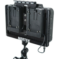 Nebtek Odyssey7 Power Cage with Dual Sony M Series Battery Plates