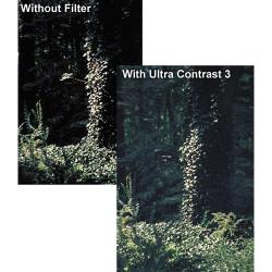 "Tiffen 6.6 x 6.6"" Ultra Contrast 1/2 Filter"