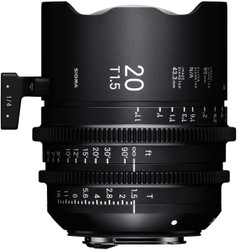 Sigma 20mm T1.5 FF EF Mount