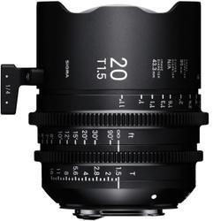 Sigma 20mm T1.5 FF Sony E Mount