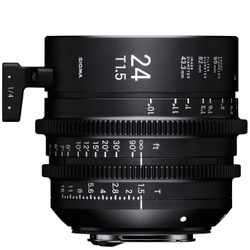 Sigma 24mm T1.5 FF EF Mount