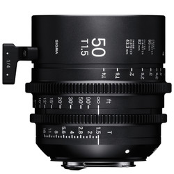 Sigma 50mm T1.5 FF EF Mount