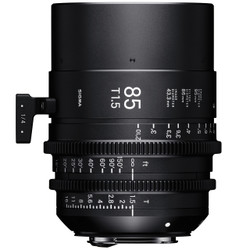 Sigma 85mm T1.5 FF EF Mount