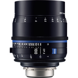 Zeiss CP.3 100mm T2.1 Compact Prime Lens (MFT Mount)