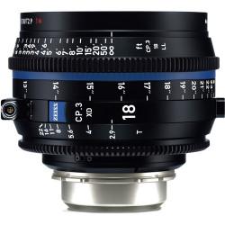 Zeiss CP.3 XD 18mm T2.9 Compact Prime Lens (ARRI PL Mount)