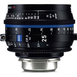 Zeiss CP.3 XD 25mm T2.1 Compact Prime Lens (ARRI PL Mount)