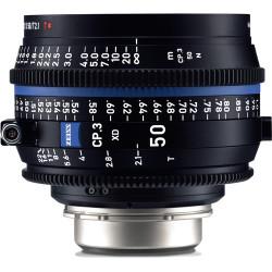 Zeiss CP.3 XD 50mm T2.1 Compact Prime Lens (ARRI PL Mount)
