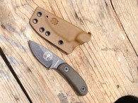 Candiru set for factory micarta