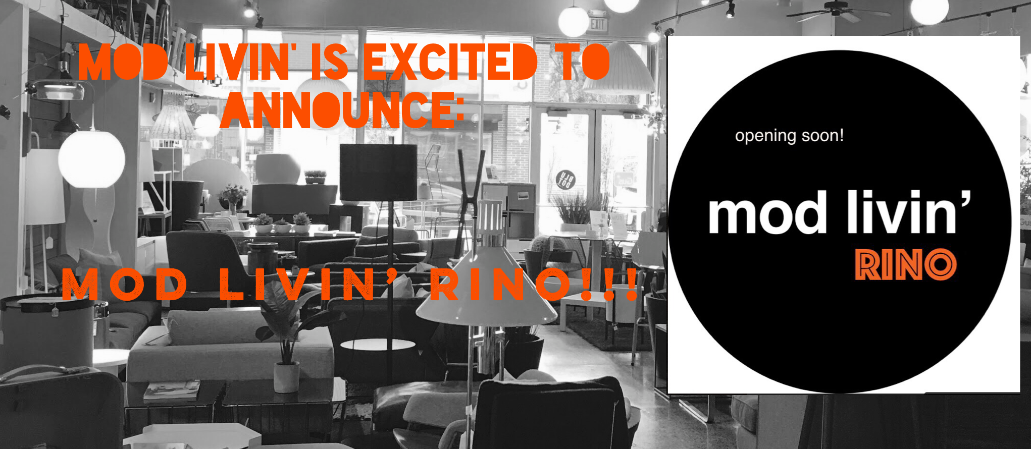 Itu0027s True, Denver! Mod Livinu0027 Is Opening A 2nd Location In The Ultra Hip  And Trendy RiNo District!! 2936 Larimer Street, Denver, CO, 80205