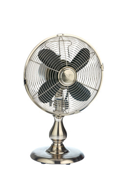 Table Fan - Stainless