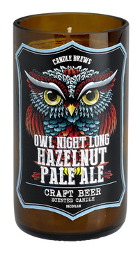 Micro-Brew Collection: Candles for Beer Lovers - Owl Hazelnut Pale Ale