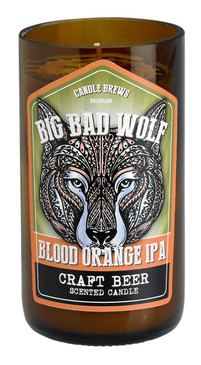 Micro-Brew Collection: Candles for Beer Lovers - Wolf Blood Orange IPA