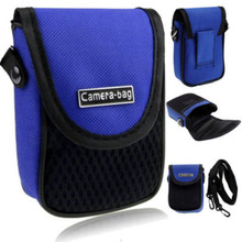 LUPO Universal Compact Digital Camera Case Bag (Internal Size: 100 x 65 x 30mm) - BLUE