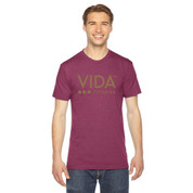 VIDA Unisex Tri Cranberry T-Shirt