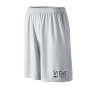 VIDA Men's Grey Wicking Mesh Short