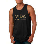 VIDA Men's Black 10 Year Anniversary Tank