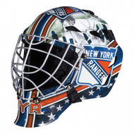 New York Rangers Franklin NHL Full Size Street Youth Goalie Mask GFM 1500