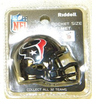 Houston Texans NFL Riddell Pocket Pro Revolution Helmet