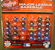 MLB RAWLINGS MICRO BATTING HELMET STANDINGS BOARD SET