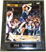 Dirk Nowitzki Dallas Mavericks NBA 10.5x13 Plaque