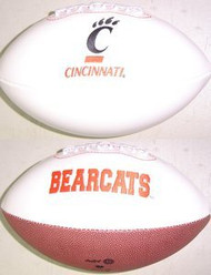 Cincinnati Bearcats Rawlings Jarden Sports Signature NCAA Full Size Fotoball Football - DEFLATED without Box/Pen