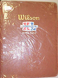 Super Bowl 40 XL Wilson Desk Folder Wholesale