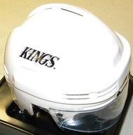 Los Angeles Kings NHL White Player Mini Hockey Helmet