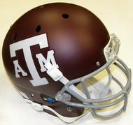 Texas A&M Aggies RED Schutt NCAA College Football Team Full Size Replica XP Helmet
