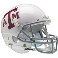 Texas A&M Aggies WHITE Schutt NCAA College Football Team Full Size Replica XP Helmet