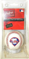 Philadelphia Phillies Rawlings Genuine Leather Official Team Logo Collectible Major League Baseball