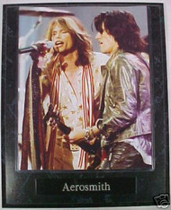 Aerosmith Steven Tyler & Joe Perry 10.5x13 Plaque