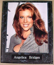 Angelica Bridges Actress 10.5x13 Plaque