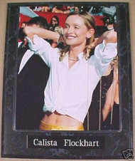 Calista Flockhart Actress 10.5x13 Plaque