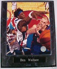 Ben Wallace Detroit Pistons 10.5x13 Plaque