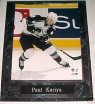 Paul Kariya Colorado Avalanche 10.5x13 Plaque