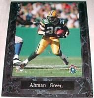 Ahman Green Green Bay Packers 10.5x13 Plaque