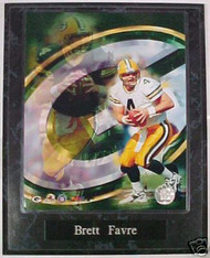 Brett Favre Green Bay Packers 10.5x13 Plaque