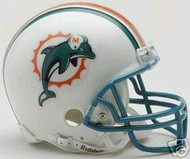Miami Dolphins 1997-2012 Throwback Riddell NFL Replica Mini Helmet