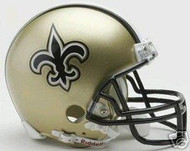 New Orleans Saints Riddell NFL Replica Mini Helmet