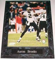 Aaron Brooks New Orleans Saints 10.5x13 Plaque - PLAQUE-0553