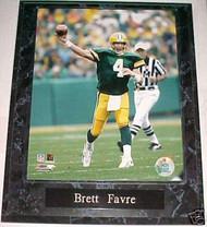 Brett Favre Green Bay Packers 10.5x13 Plaque - PLAQUE-0554