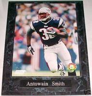 Antowain Smith New England Patriots 10.5x13 Plaque