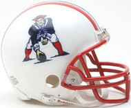New England Patriots 1990-1992 Riddell NFL Replica Throwback Mini Helmet