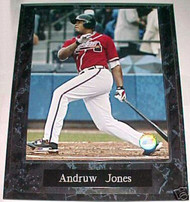 Andruw Jones Atlanta Braves 10.5x13 Plaque