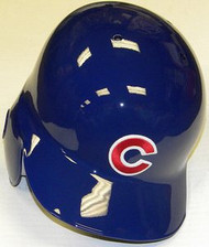 Chicago Cubs Rawlings Full Size Authentic Left Handed MLB Batting Helmet - Right Flap Regular