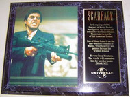 Al Pacino Scarface 15 x 12 Movie Plaque