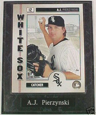 A.J. Pierzynski Chicago White Sox 10.5x13 Plaque
