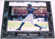 Alfonso Soriano Texas Rangers 10.5x13 Plaque