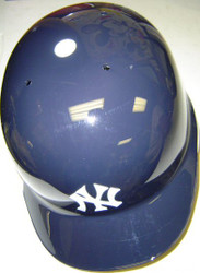 New York Yankees Rawlings Full Size Authentic Right Handed Batting Helmet - Left Flap Regular